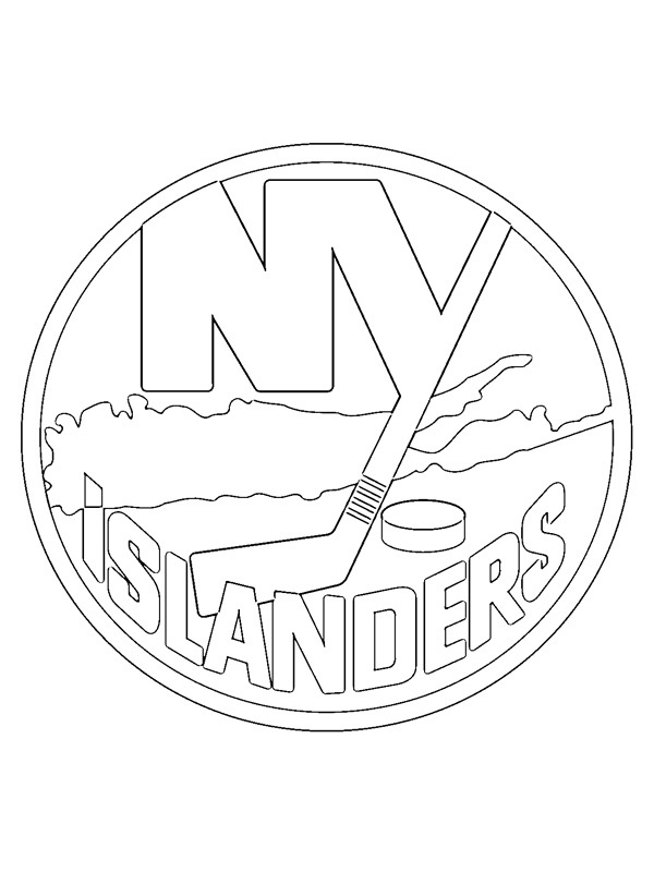 Kifestő New York Islanders